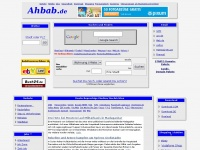 Ahbap Internet Portal; Nachrichten; Wetter; Routenplaner; Stastplan; Staumelder  //Tarife