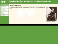 Studentischer Arbeitskreis Hom&ouml;opathie an der MHH: Start