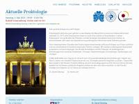 Kongress Aktuelle Proktologie Berlin 2014