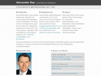 Alexander Bay - Lotus Notes Domino Administrator Berater Entwickler Trainer