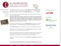 ALL NATIONS FESTIVAL   Tag der offenen Tür in Botschaften in Berlin   Botschaftsweltreise