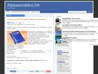 alphastrahlen.de