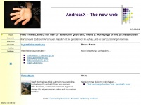 AndreasX - The new web