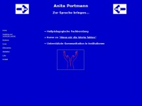 Anitaportmann.ch - Anita Portmann