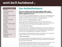 anti-bell-halsband.de Thumbnail