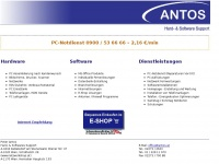 Antos Hard & Software Support - Hardware - Software - Funkinternet - Dienstleistungen - PC-Notdienst