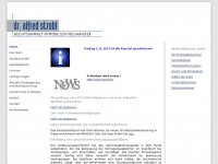 Rechtsanwaltskanzlei Dr. Alfred Strobl - anwaltstrobls Webseite!