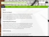 arbeitsvertrag-minijob.de