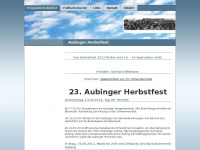 aubinger-herbstfest.de