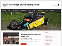 Auto-Cross Mc Chrystal's Swiss Racing Team - News