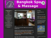 Willkommen - Bangkok Traditionelle Thaimassage & Spa