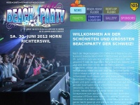 BEACH PARTY RICHTERSWIL 2013