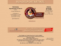 Bellomiez.de - Hundesportartikel Papadopoulos Products