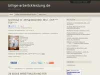 billige-arbeitskleidung.de Thumbnail