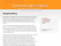 bodybuilding-fitness-kraftsport.de