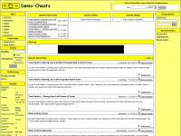 Demo-Cheats  -  Aktuelle News und Spieleinfos