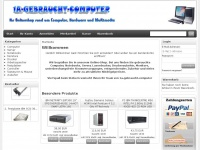 Gebrauchte Hardware, Notebooks, TFT Monitore, PCs & Server - ...