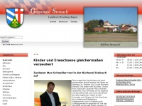 Gemeinde Steinach - Startseite