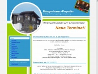 buergerhaus-populaer.de