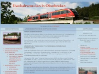 eisenbahnen-oberfranken.de