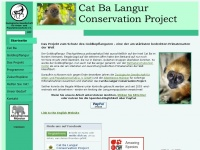 Cat Ba Langur Conservation Project -