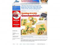 Perfekte CD und DVD GeschenkSets selbst gemacht mit der DruckShop GeschenkSet Software