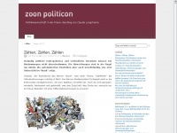 Zoon Politicon