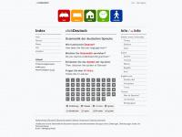 Clickdeutsch.de - clickDeutsch: Grammatik der deutschen Sprache - interaktive Übungen online, Erklärungen, Übersetzungen, Audio
