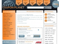 Coupon-Planet&copy; .. Mit Gutscheinen richtig sparen!