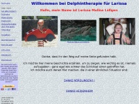 Delphintherapie f&uuml;r Larissa