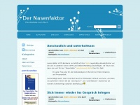 Der Nasenfaktor