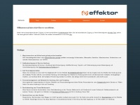 effektor CMS und SEO Shop | Powered by effektor