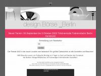 Design Boerse Berlin. Boerse und Markt fuer Produkt- und Industriedesign der letzten 100 Jahre.