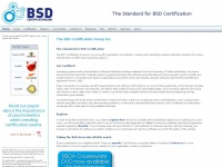 bsdcertification.org
