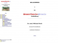 Anaesthesie Praxis Dr. med. Michael Heck