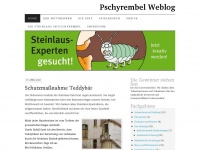 Pschyrembel Weblog | Die Pschyrembel-Redaktion bittet um Ihre Unterstützung