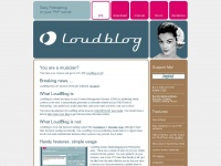 LoudBlog - Podcasting Software for PHP