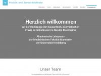 Praxis Dr. Bertram Schollmeier | Internist Hausarzt Mannheim Sandhofen