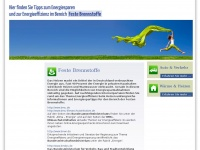 Tipps zum Energiesparen
