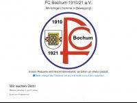 FC Bochum 1910/21 Hauptseite - www.fcbochum.de