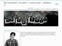 Felix Disselhoff | ./.journalist //medien;netzwelt;technik ./.social-media-coach ./.autor