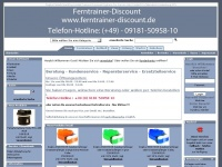 ferntrainer-discount.de Thumbnail