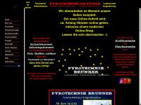 """PYROTECHNIK  BRUNNER-Hochzeitsfeuerwerke Silvesterfeuerwerk Ladenverkauf mit 700 Artikeln Signalmunition Grossfeuerwerke Kleinfeuerwerke-auch zum  selber abbrennen Silvester-Verkauf Baden-Württemberg Feuerwerk Großhandel Feuerwerkmuseum """"> <meta  name=""""DC.Title"""" content=""""PYROTECHNIK BRUNNER"""