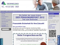 THE FINANCE COACH Finanzierungs- und Verm&ouml;gensberatung