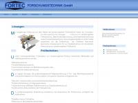 fortec-forschungstechnik.de