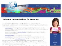 Foundationsforlearning.ch - Foundations for Learning - Home Page