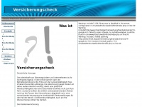 FWB-Versicherungsvergleiche - Krankenversicherungsvergleich