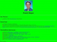 Frank Meyer&#039;s Homepage