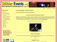 Startseite - Stöhler Events - Ihr DJ für Hochzeiten, Geburtstage, Betriebsfeste