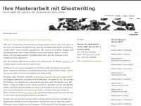 masterarbeit-ghostwriting.de